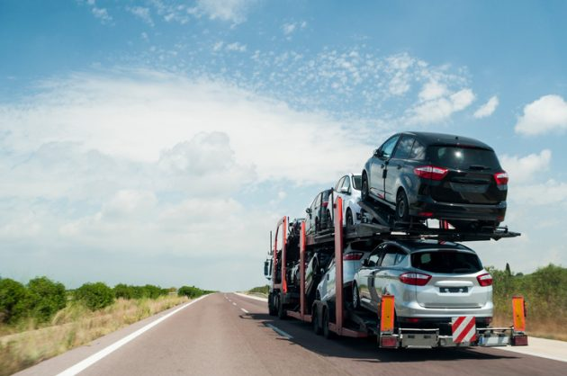 transporting your car