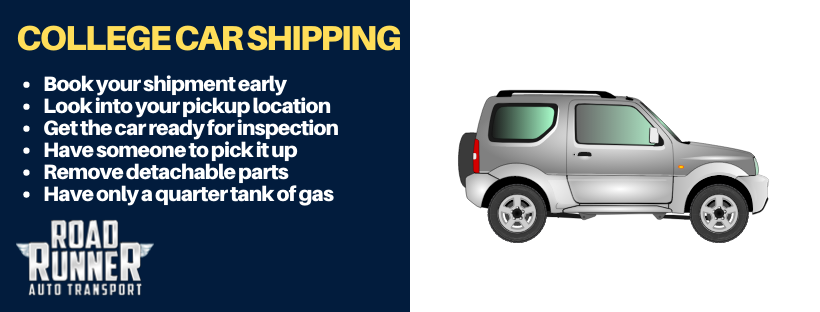 college-car-shipping-tips