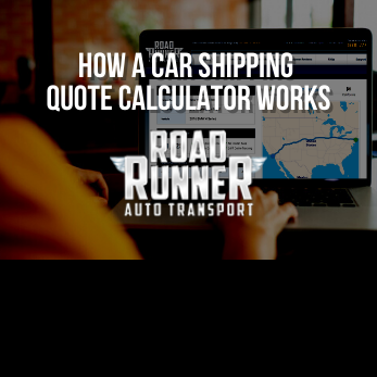 How a Car Shipping Quote Calculator Works
